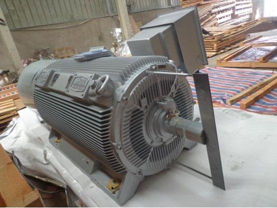 Compact asynchronous motor