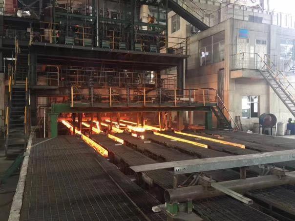 R9m 6strands billets continuous casting machine