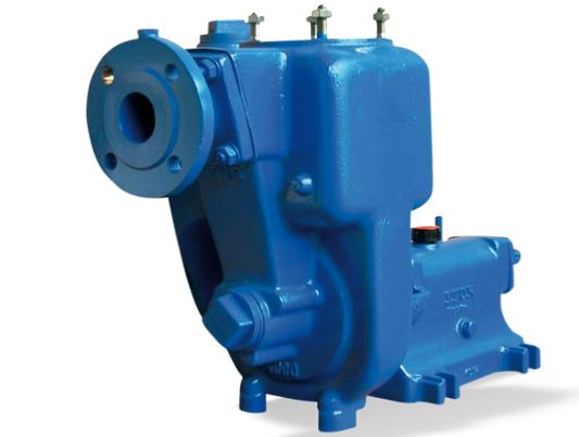 KSB Horizontal, self-priming centrifugal pump